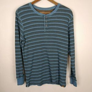 Northwest Territory Striped Long Sleeve Thermal